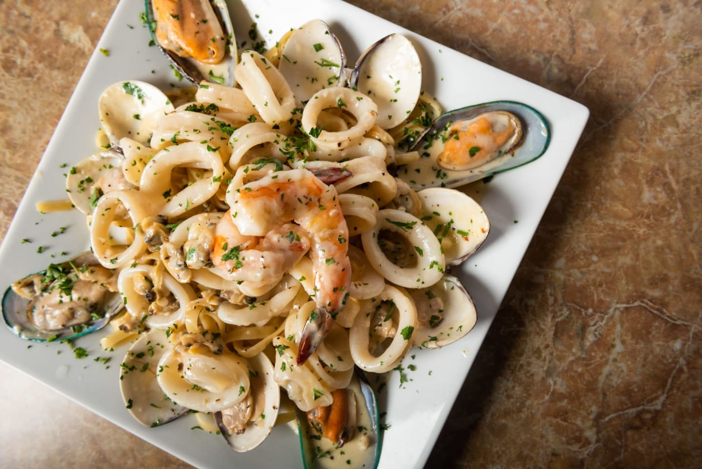 calamari pasta