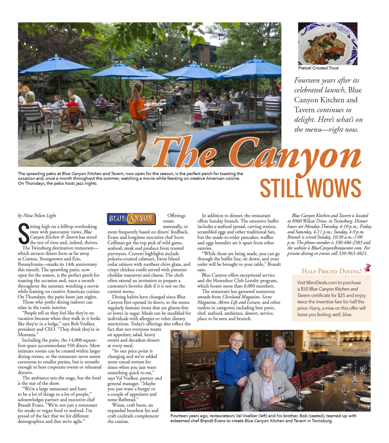 """The Canyon Still Works"" article"