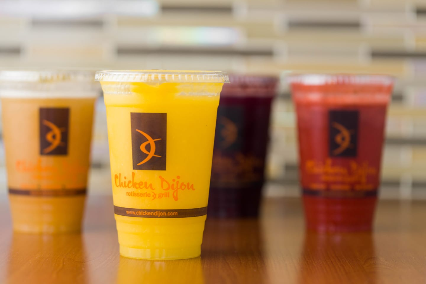 juices at chicken dijon