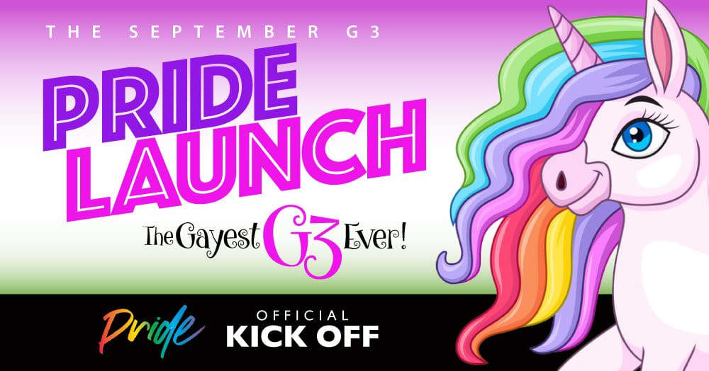 The September G3 Happy Hour   Official Tucson Pride Kick-Off