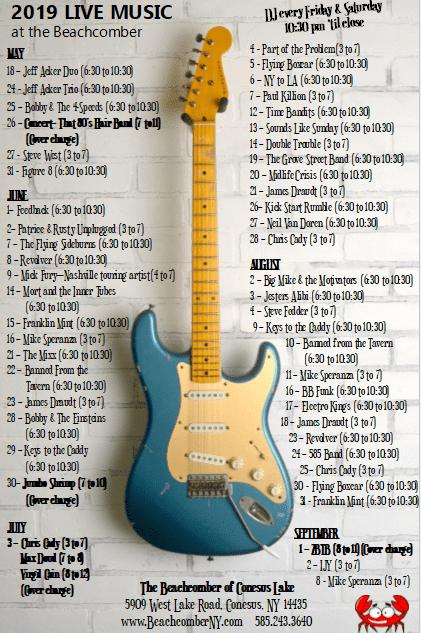 live music schedule