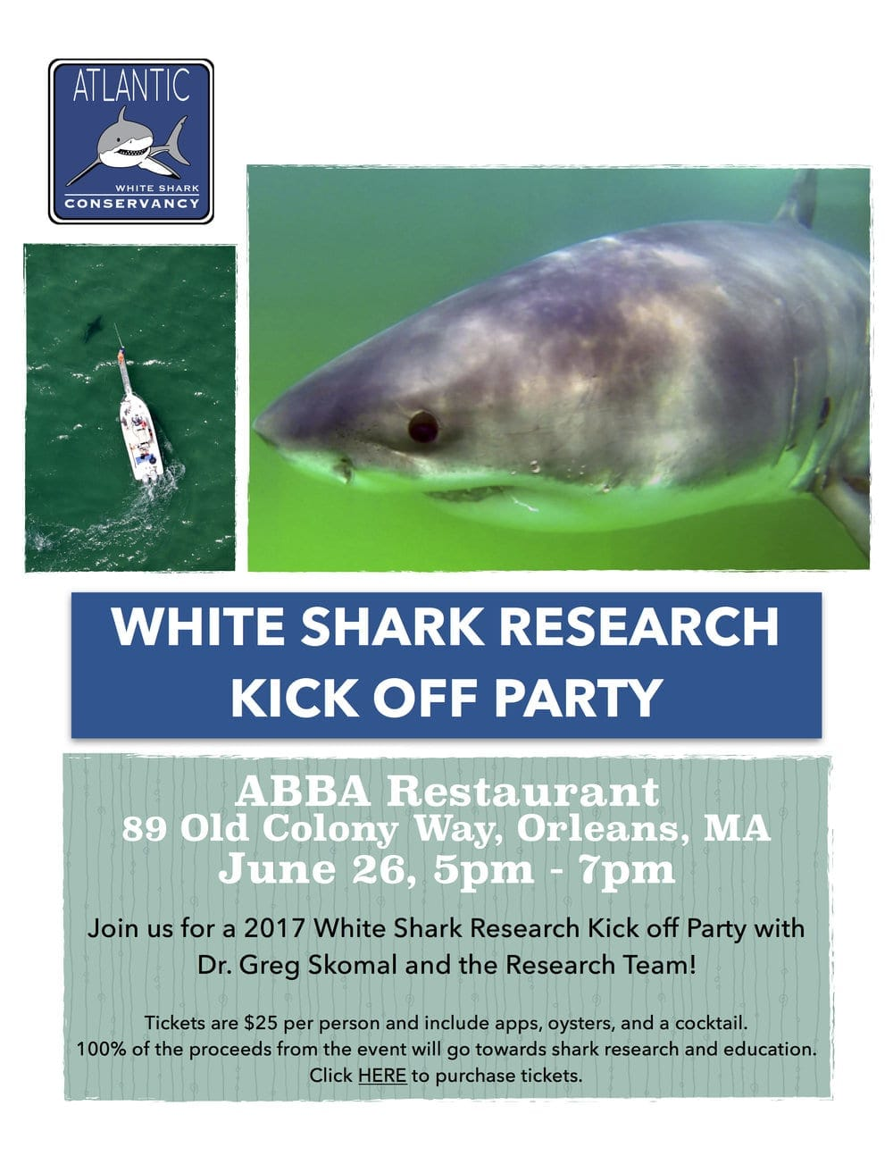 White Shark Research Kick Off Party