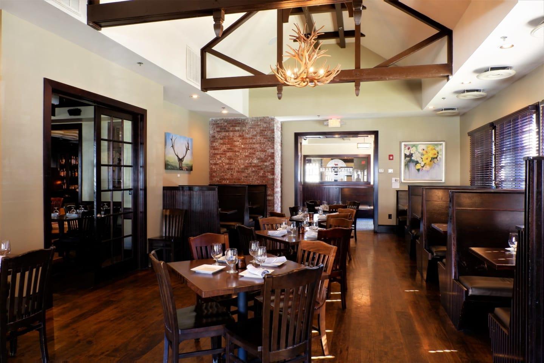 Inside Branchwater restaurant