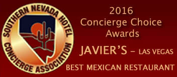 2016 Southern Nevada Hotel Conceirge Assocation Award