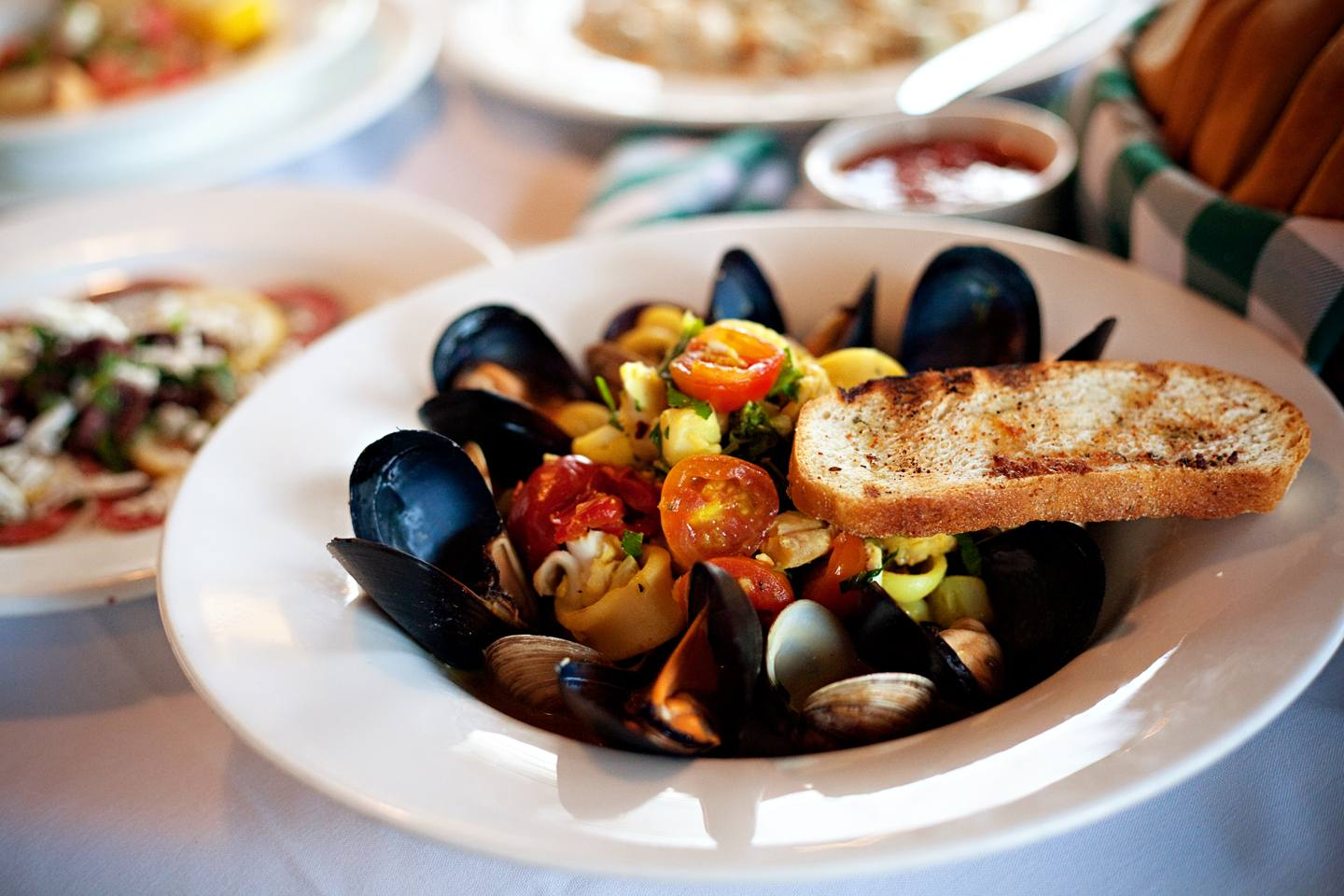 mussels entree