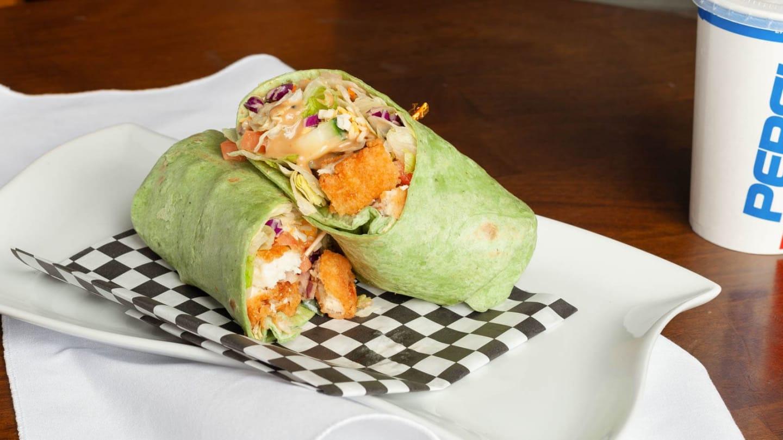 crispy thai wrap