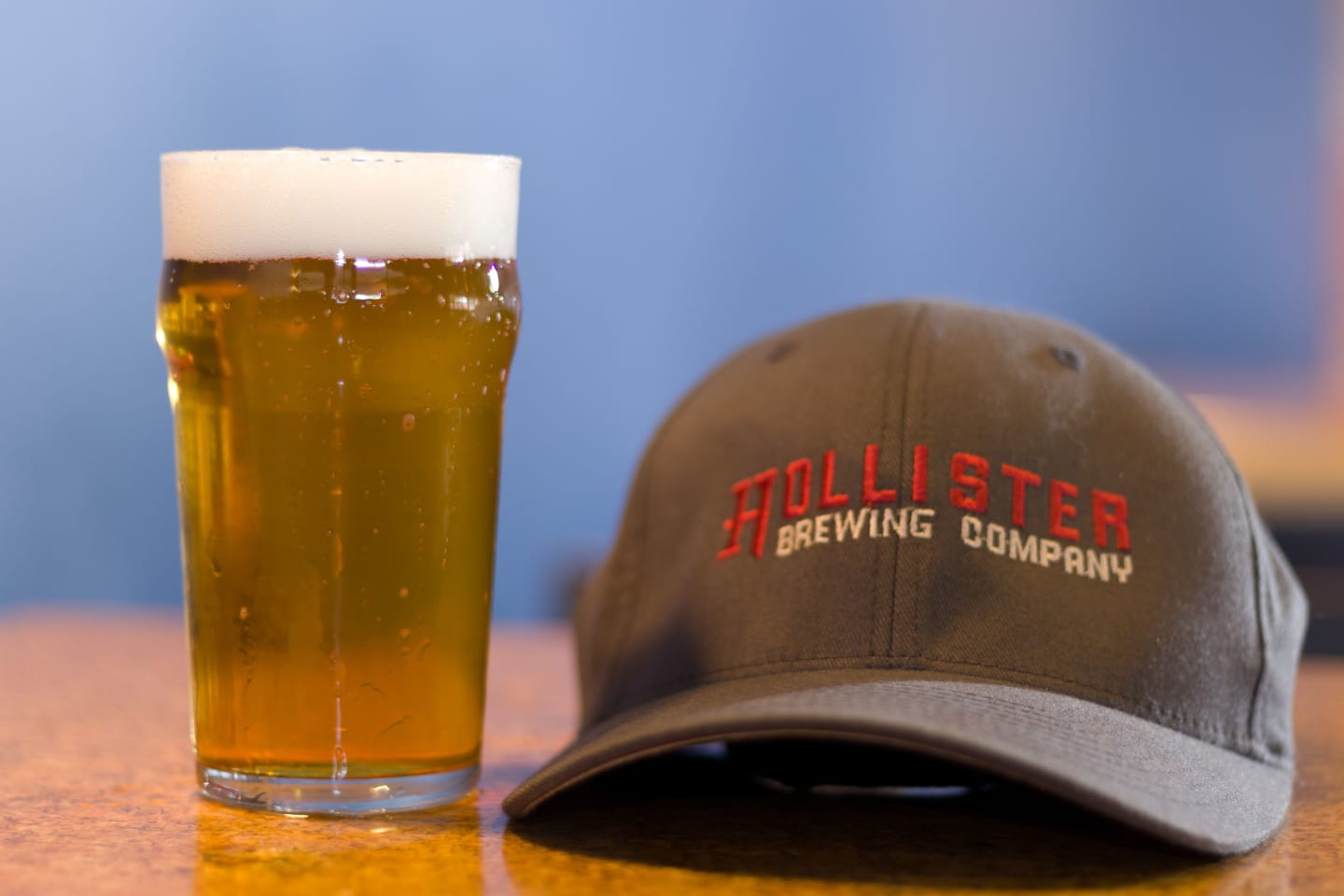 Hollister brewing hat