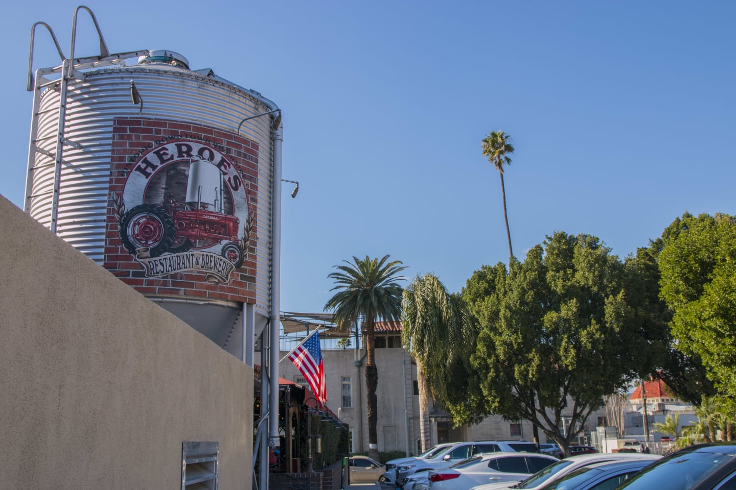 outside of brewery