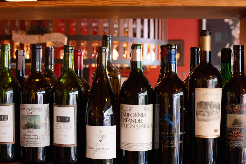 award winning wine collection