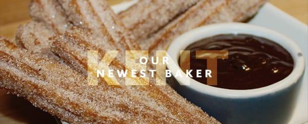 Meet our newest Baker, Damon Kent