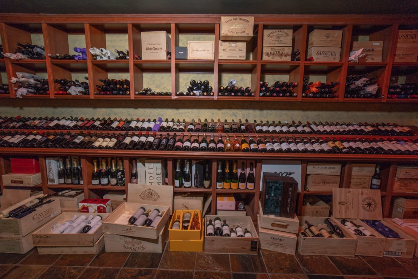 Temperature Controlled Room, Rare and Allocated Wines