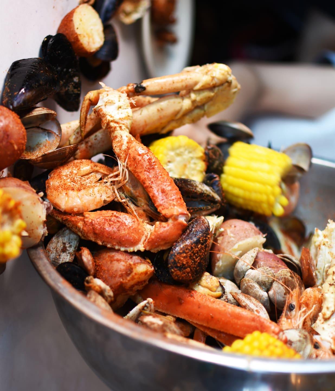 crab pot feast