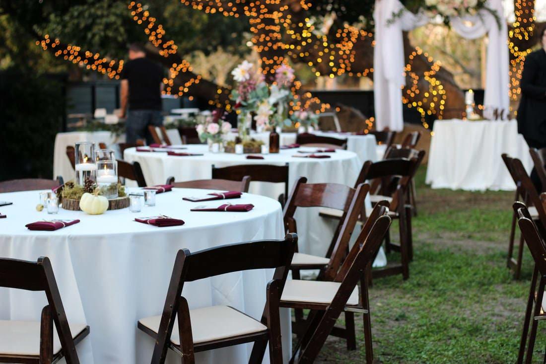 table settup