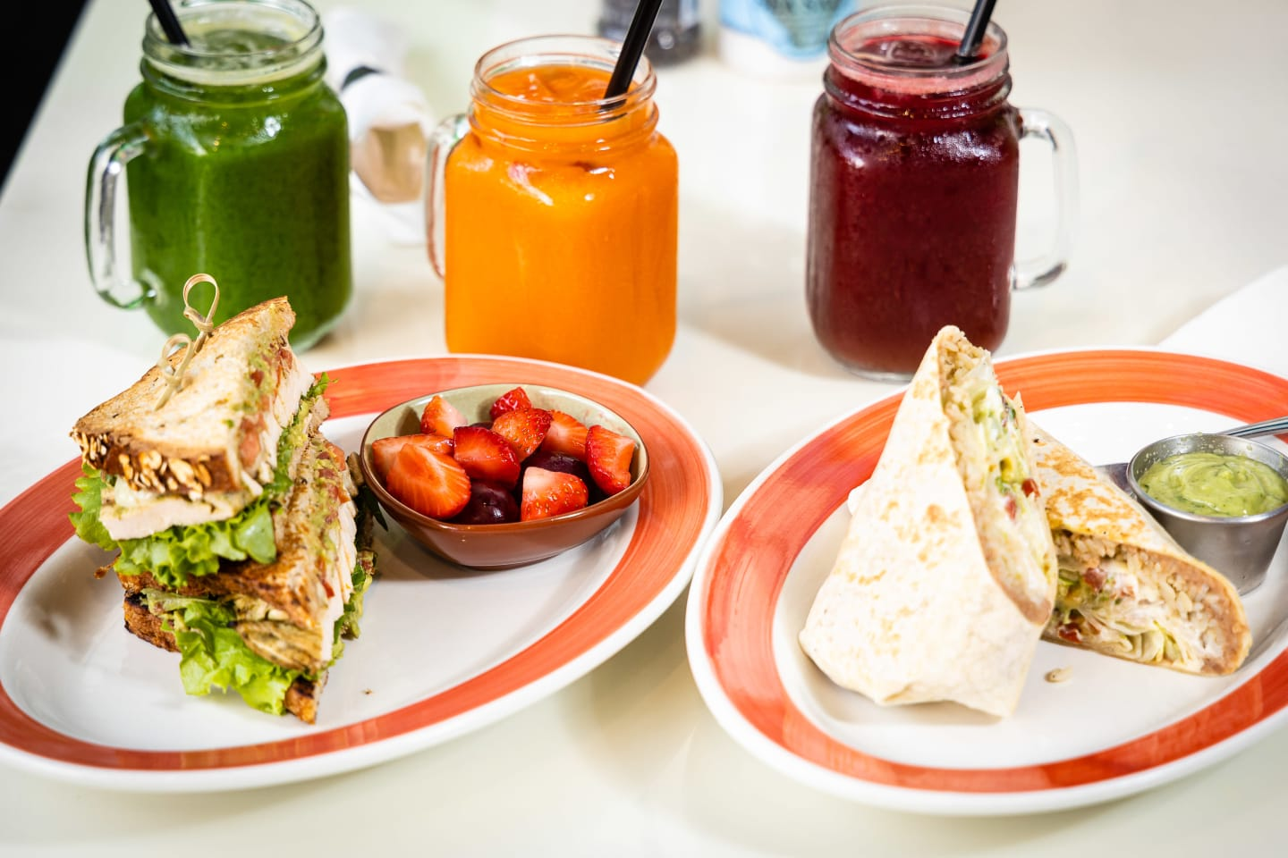 food with juices