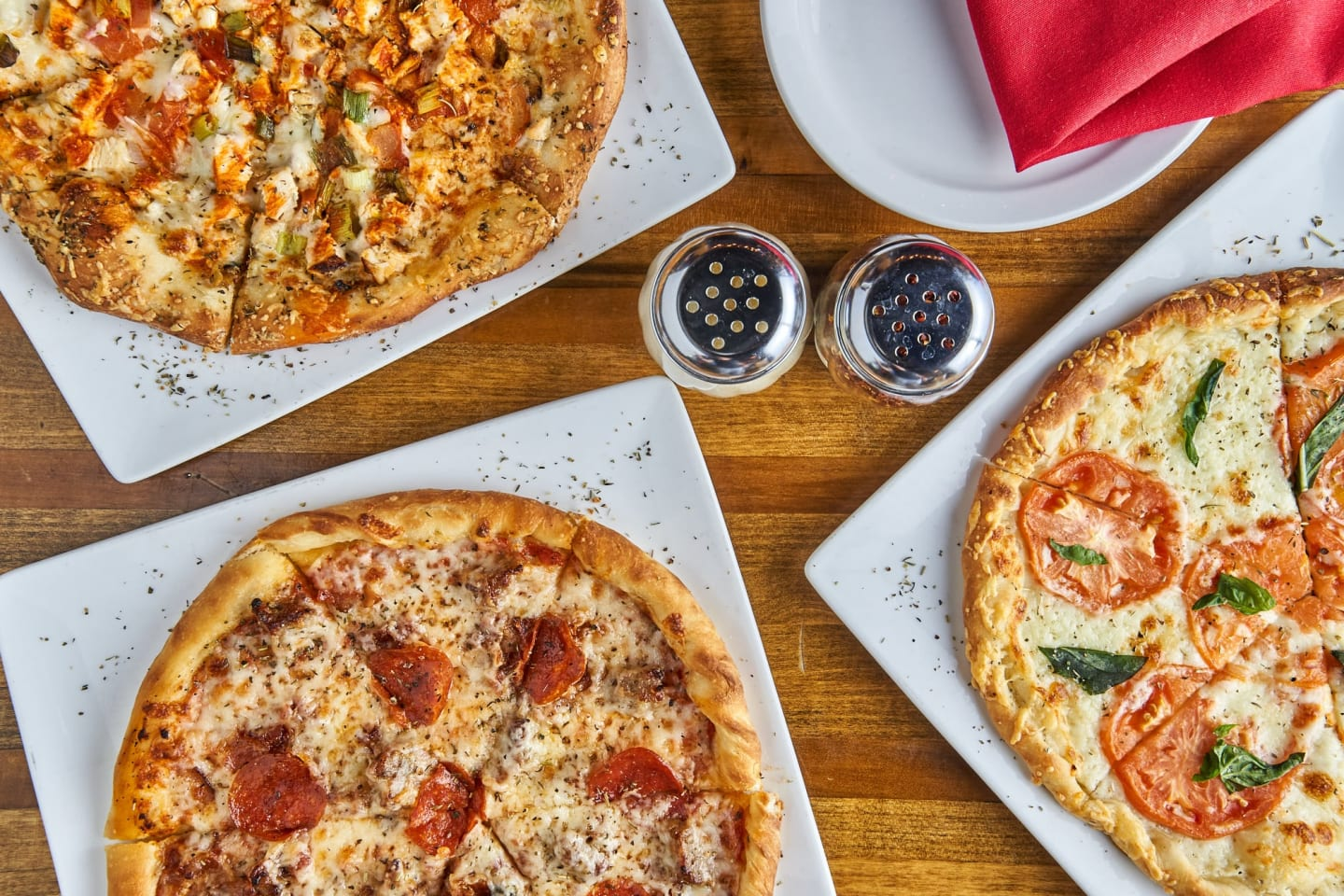 Different Pizza Flavors