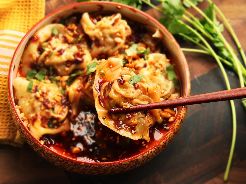 Winston Szechuan Dumplings