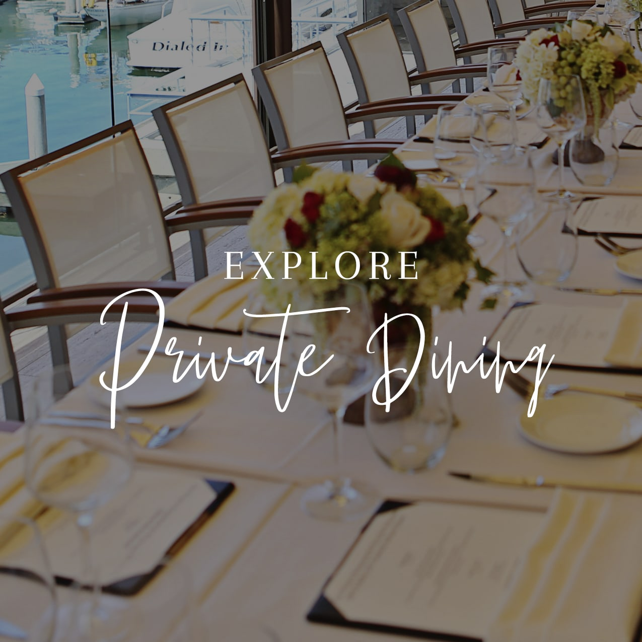 explore private dining