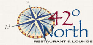 42 Degrees North Restaurant logo