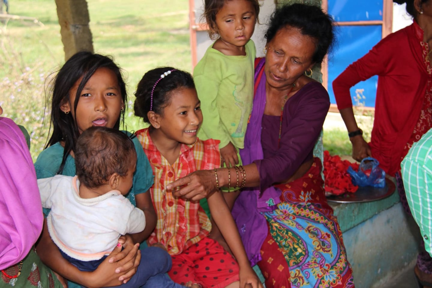 Shaping Young Minds Foundation helping kids in Nepal