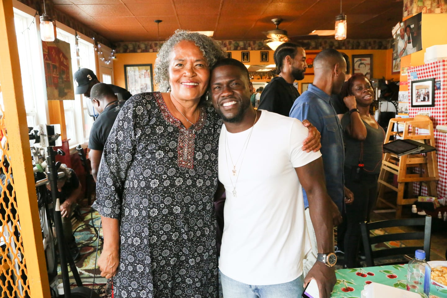 Gloria and Kevin Hart