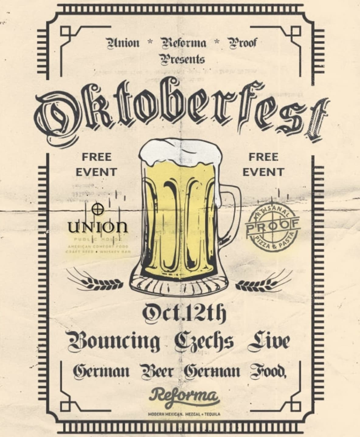 Oktoberfest feat. The Bouncing Czechs