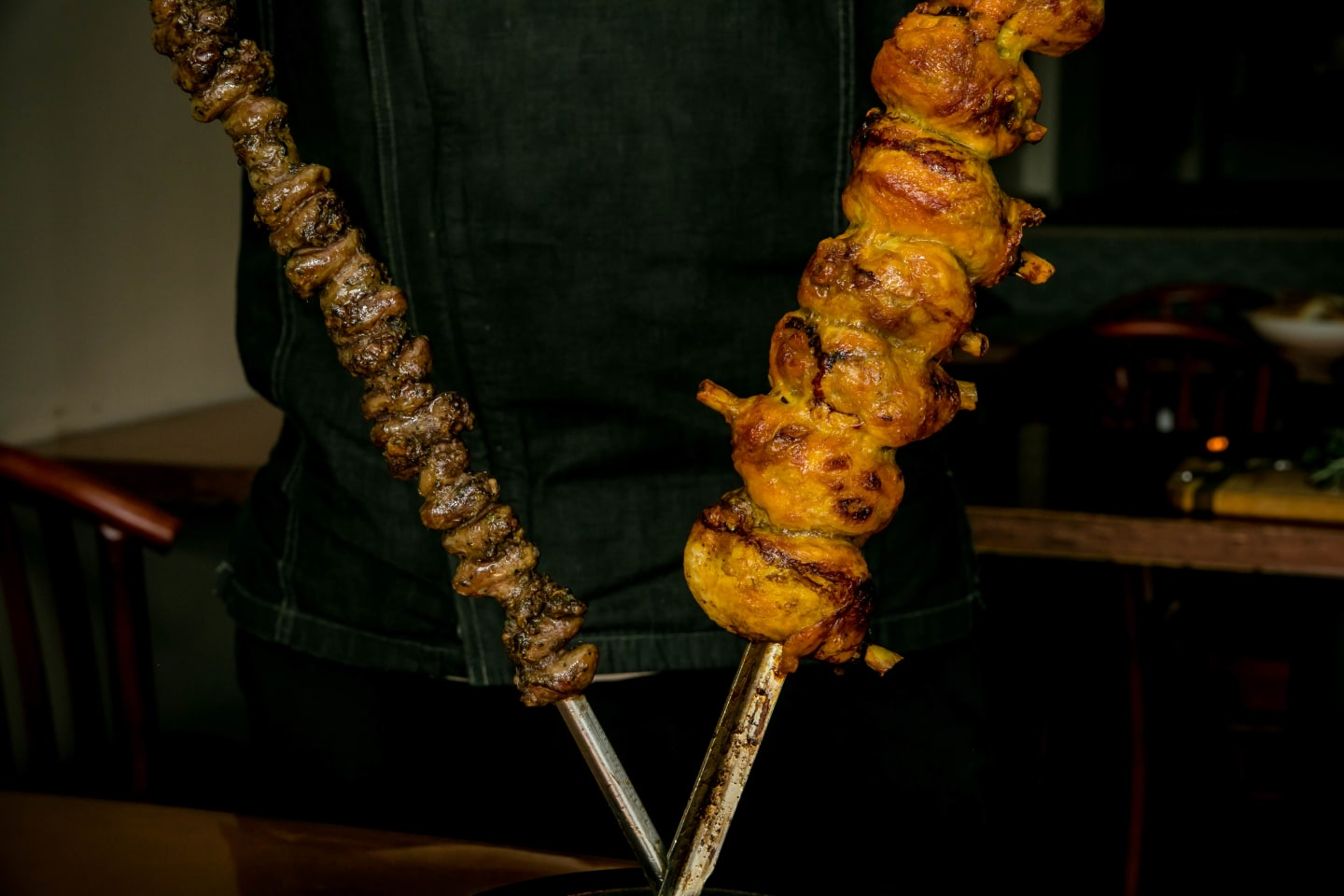 rodizio thighs and hearts