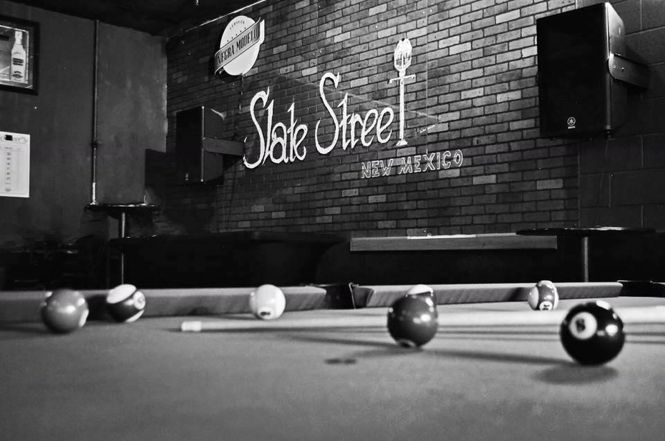 Slate Street billiards table