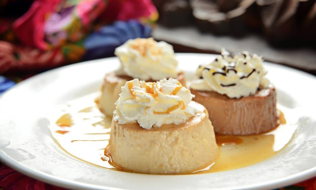 ADios Cafe Dessert Menu