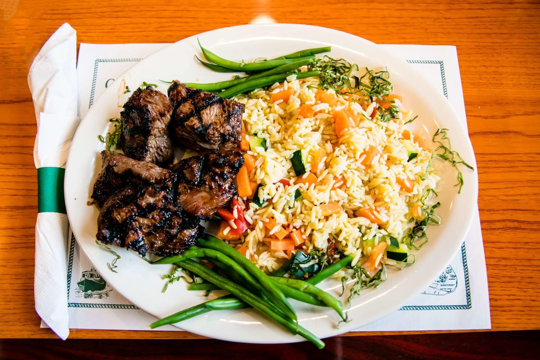 marinated steak tips