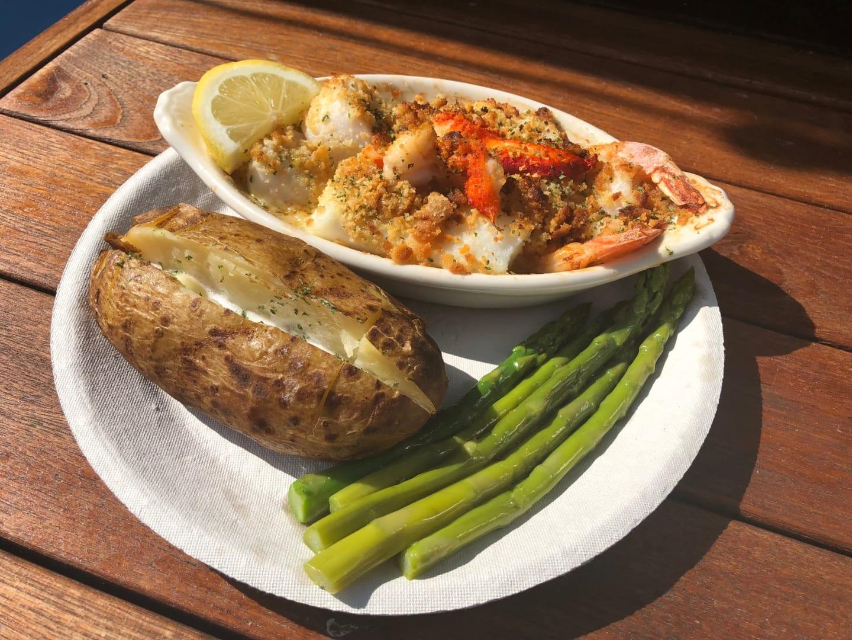 shrimp and potato