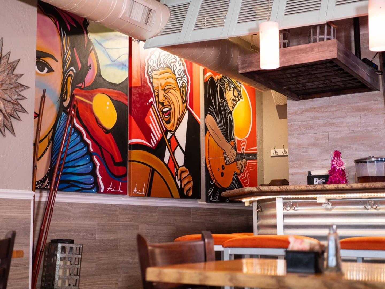 Blend Restaurant Interior