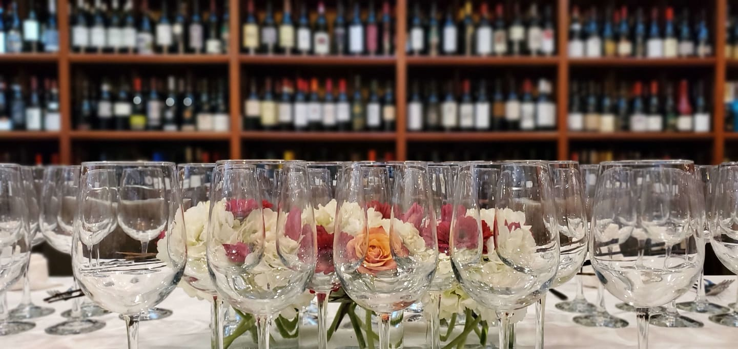 Wine Room Flowers