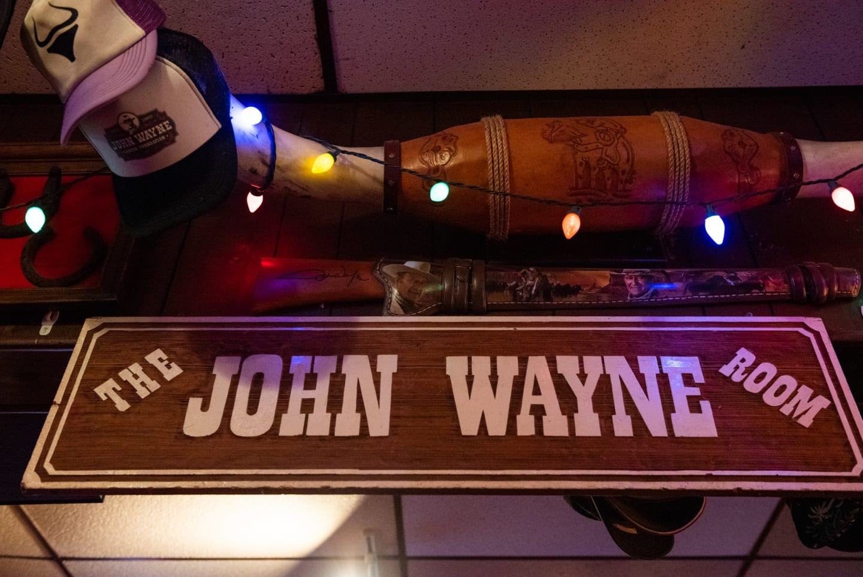 john wayne sign