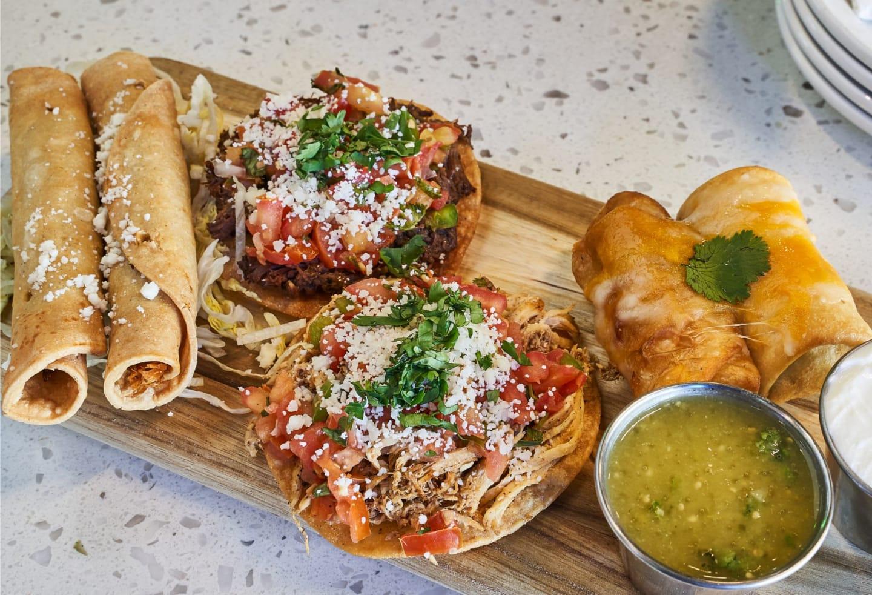 Mexican platter