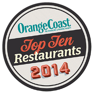 orange coast top ten restaurants 2014