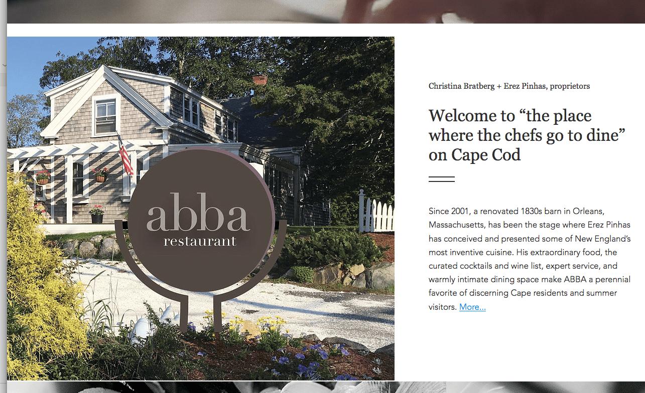 Abba website