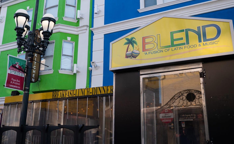 Blend Restaurant Exterior