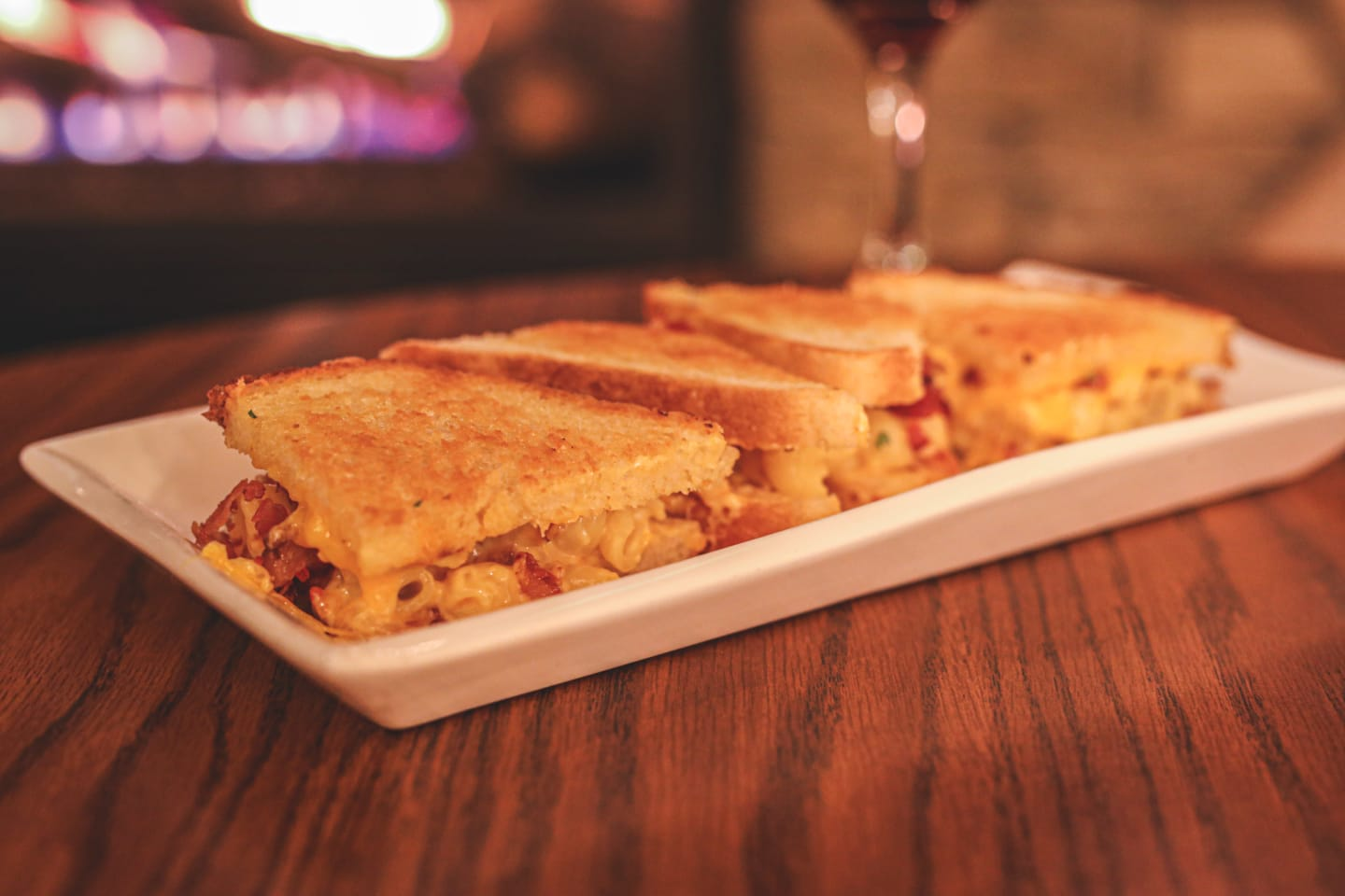 Grilled Mac & Cheese