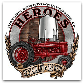 Heroes Restaurant and Brewery Riverside Logo