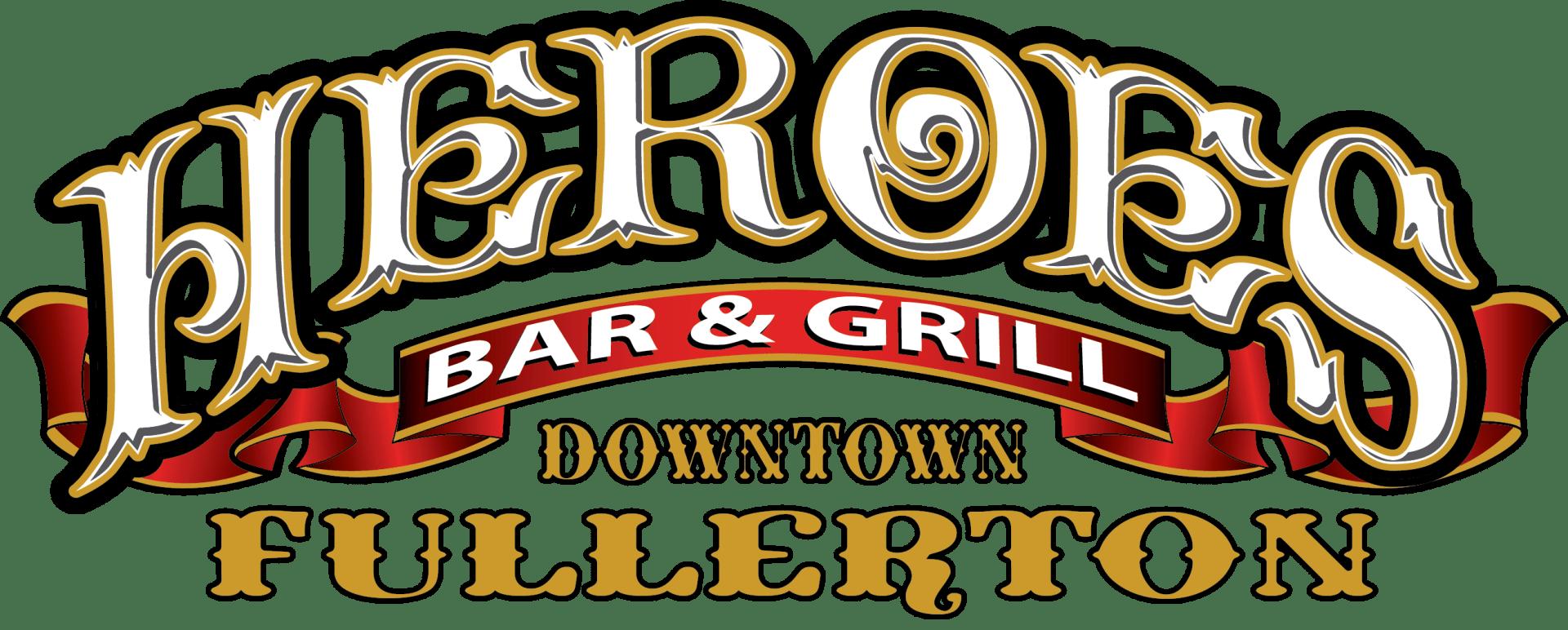 Heroes Bar & Grill Fullerton Logo