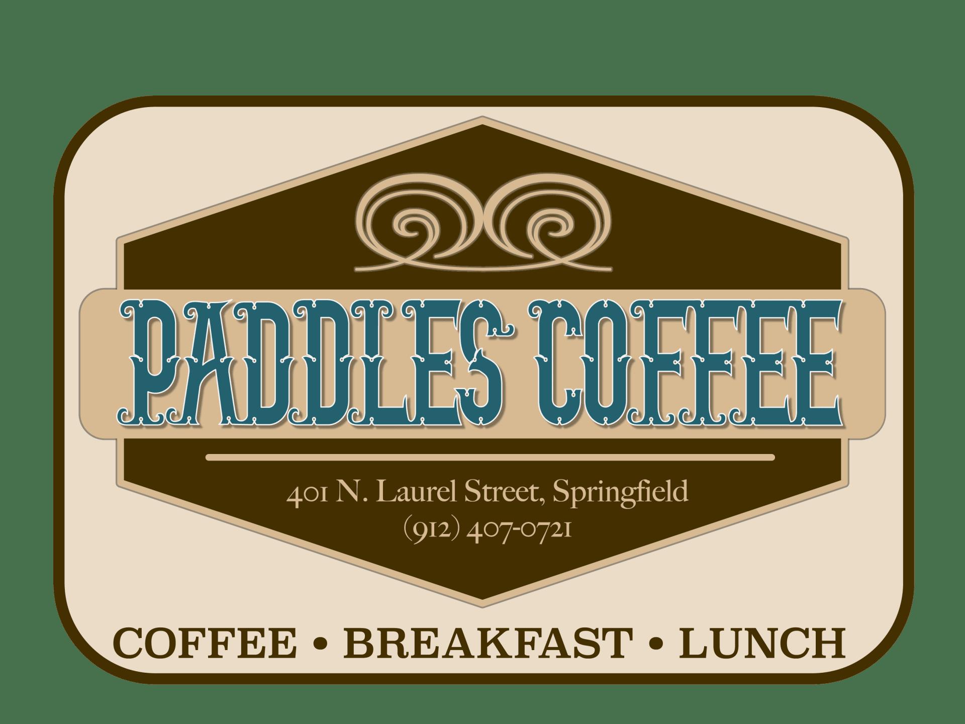 paddles coffee logo