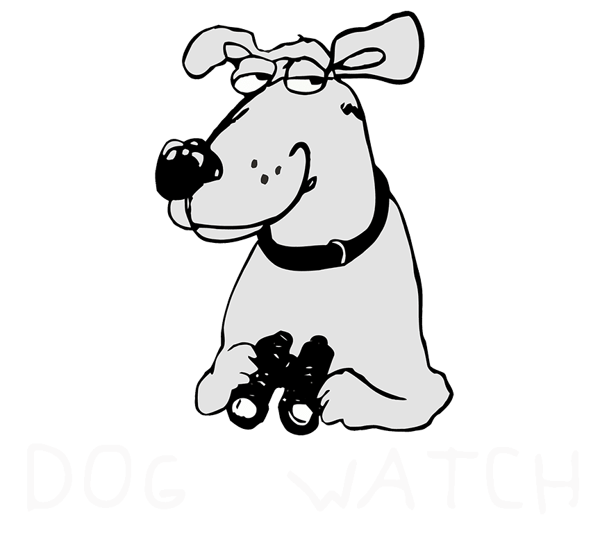 Dog watch logo