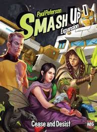 Smash Up Cease and Desist