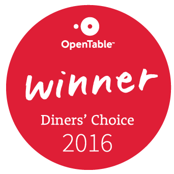 open table winner diner's choice 2016