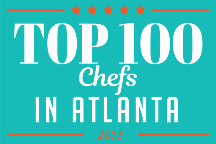 top 100 chef's in atlanta