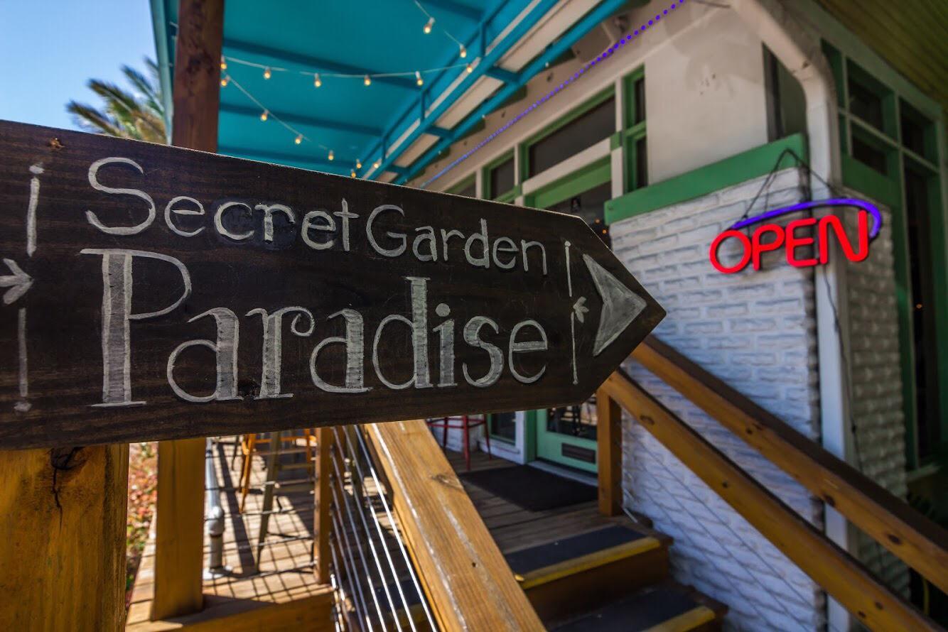 secret garden paradise