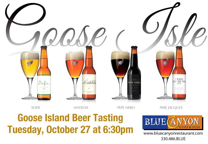Goose Island Beer Tasting
