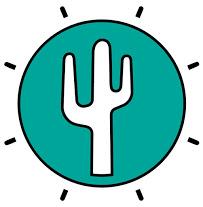Caliente cactus logo
