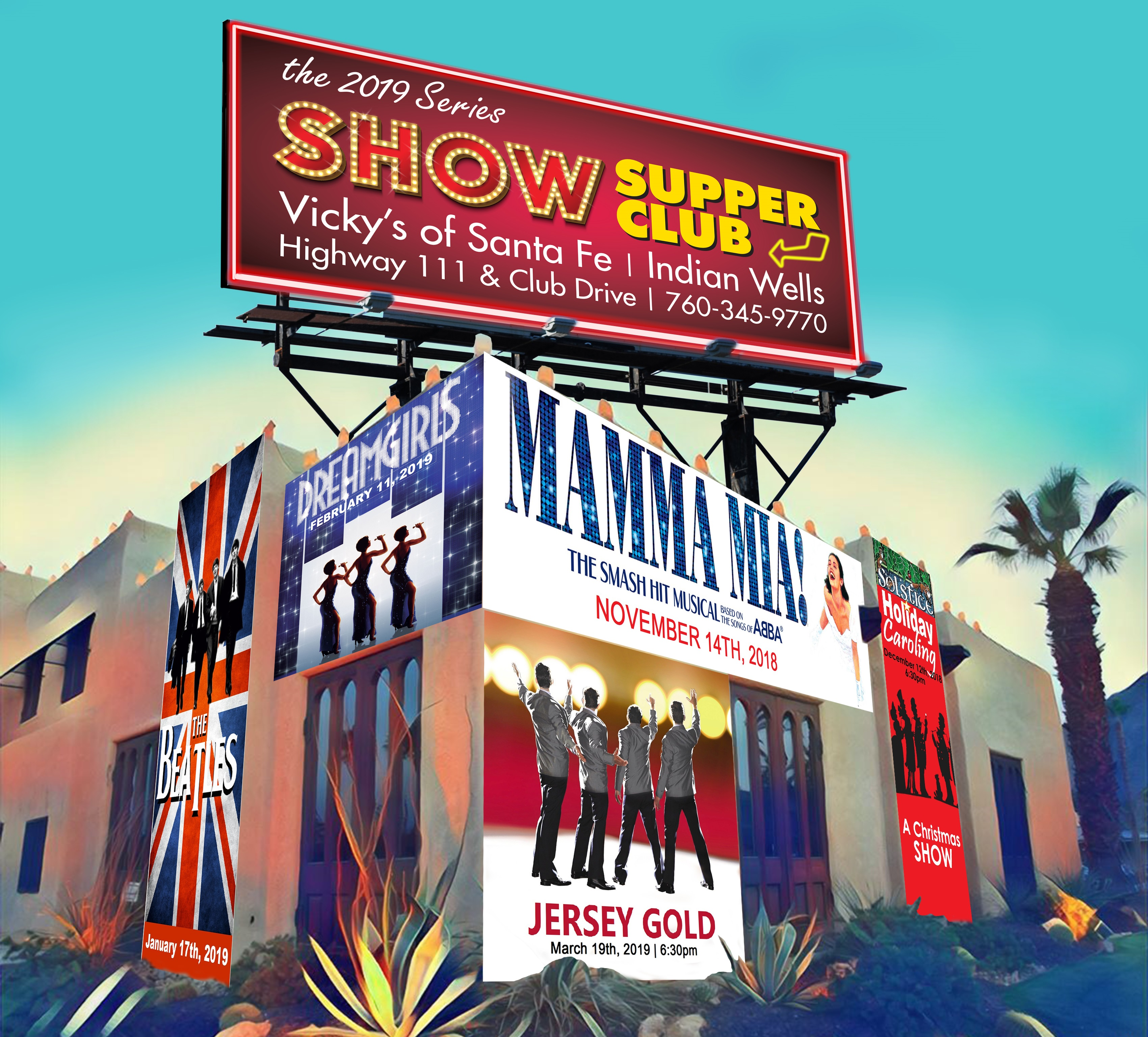 Show Supper Club advertisement