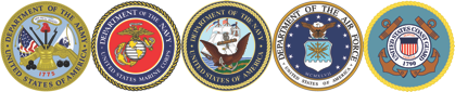 United States Armed Forces Seals
